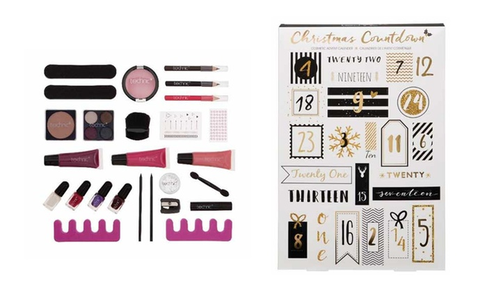 Calendario Avvento Makeup.Calendario Dell Avvento Make Up Groupon