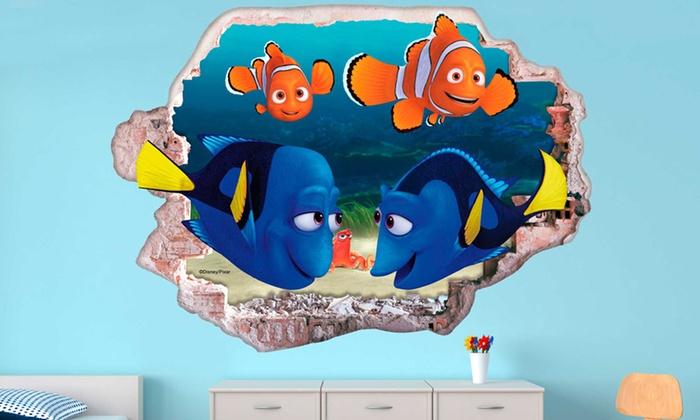 Wandsticker Nemo Mit 3d Effekt Groupon Goods