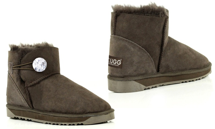 80ea0bd77d8 Up To 58% Off UGG Boots with Swarovski® Crystals | Groupon