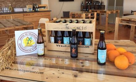 Visita guiada y cata ilimitada con degustación en fábrica de cerveza Gènesis para 1, 2 o 4 desde 8,90 € en L'Albufera