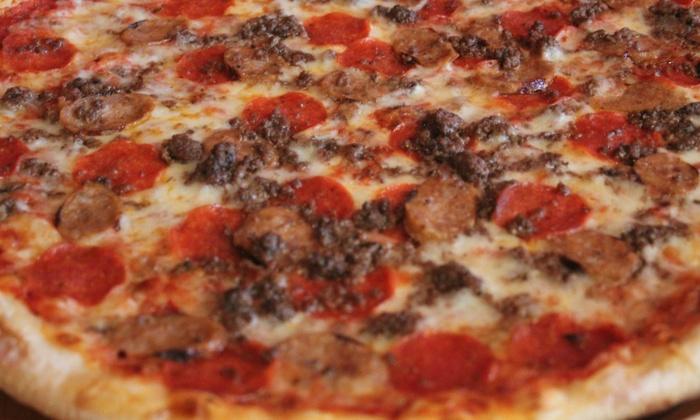 Fuertes Ny Pizzeria 20 Cash Back On Pizza Groupon