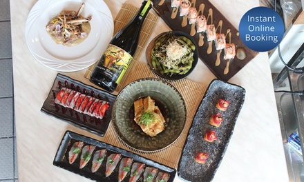 NineCourse Chef's Degustation Menu with Wine for Two $99 or Four People $197 at RK San Up to $370 Value