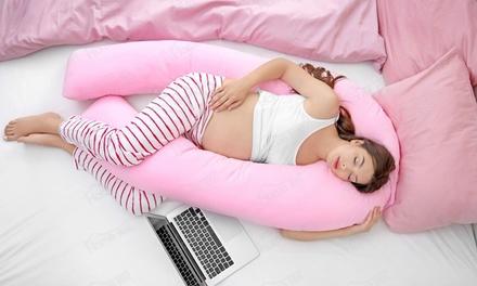 Oreiller géant de grossesse et d'allaitement avec ou sans housse