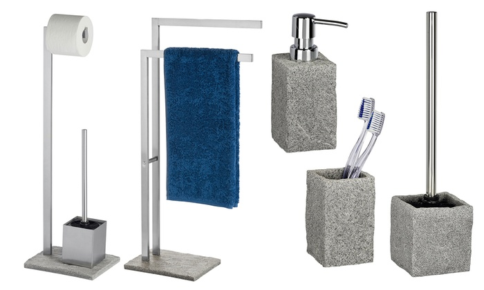 Set di accessori da bagno wenko groupon goods - Wenko accessori bagno ...