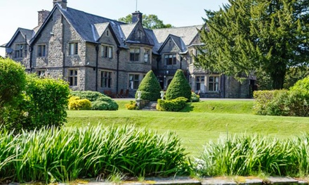 South Wales: Up to 3 Nights for Two with Breakfast, Dinner, Wine and Optional Afternoon Tea at Maes Manor Country Hotel