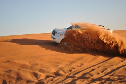 Half Day or Overnight Desert Safari and Optional Quad Biking for Up to Four from Al Badeyah Eyes Tourism (Up to 57% Off)