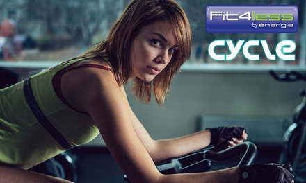 Five Spinning Classes at Fit4less – Old Street (60% Off)