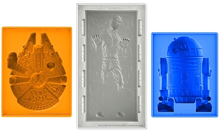 Star Wars Mold Trays for Ice Cubes, Chocolate, or Baking