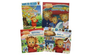 Daniel Tiger Book Bundle (4-Piece)