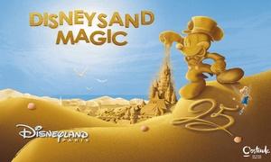 Zand & ijssculpturenfestival: Een toegangsticket voor 1 persoon voor Disney Sand Magic in Oostende voor € 8,50!