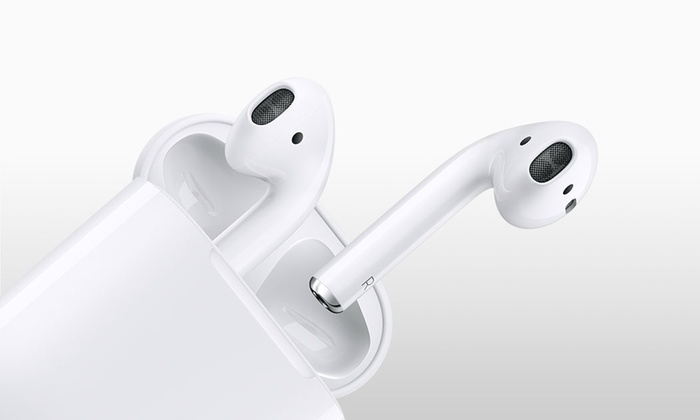 Groupon Direct - 503778 - Merchandising (AE): Apple AirPods and Charging Case for AED 999