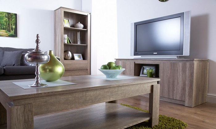 Fantastic Henderson Oak Living Room Range Groupon Interior Design Ideas Philsoteloinfo