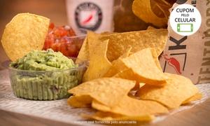Kaichili Mexican Kitchen: Kaichili Mexican Kitchen - Moinhos de Vento: 2 ou 4 pratos mexicanos