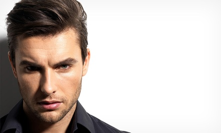 Hair Styling Packages for One (from $29) or Two People ($89) at Gentlemens Hair Lounge (from $49 Value)