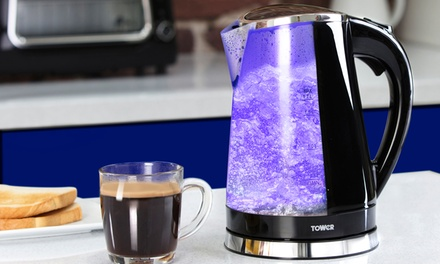 Tower LED Colour-Changing Kettle