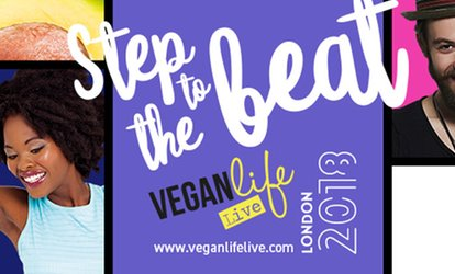 image for Vegan Life Live: Two Tickets, 10–11 February 2018 at Alexandra Palace (Up to 54% Off)