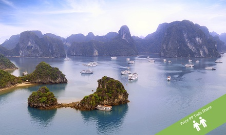Vietnam: $569 Per Person for a Nine-Day North Vietnam Tour with Sightseeing and Guided Tours with Halong Tours Booking