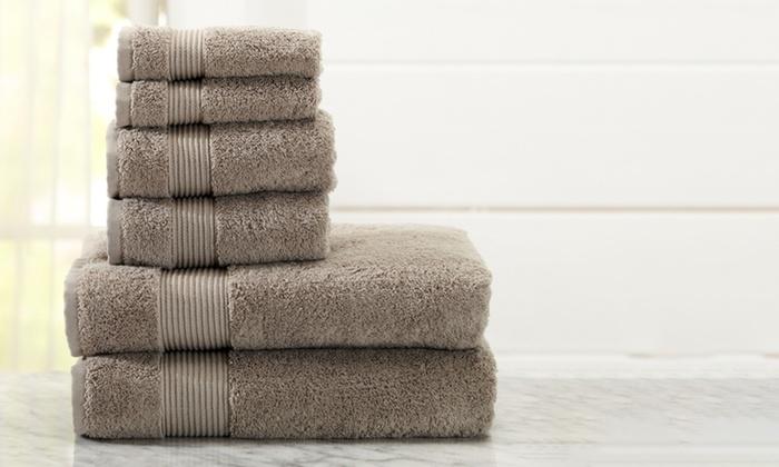Melanie Collection Turkish Cotton Bath Towel Set (6 Piece): Melanie  Collection ...