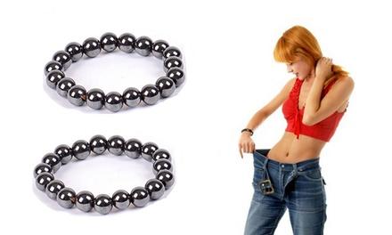 1, 2 ou 3 bracelets minceur, aide à la perte de poids grâce au magnétisme
