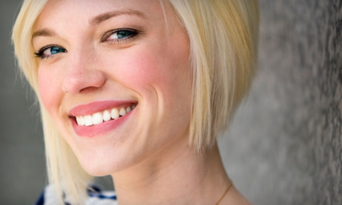 Dental Salon - Schaumburg: Dental Checkup with Exam, Cleaning, and X-ray or In-Office Laser Teeth Whitening at Dental Salon (Up to 80% Off)