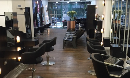 Haircut, Blow-Dry and Conditioning with Optional Half Head Highlights or Full Colour at Nicky Oliver (Up to 65% Off)