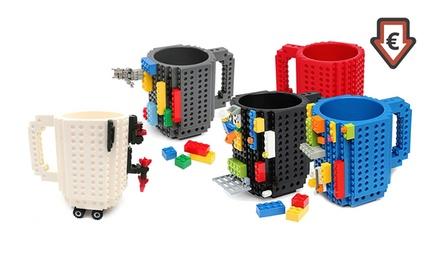 1x oder 2x Lego-Blöcke-Becher in der Farbe nach Wahl (bis zu 57% sparen*)