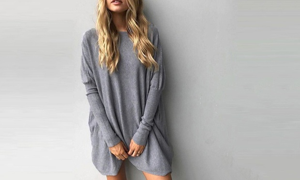 Nelly Long Sleeved Oversized Top: One ($15) or Two ($25)