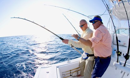 Up to 40% Off Half-Day Deep Sea Fishing at Get Hooked Fishin'