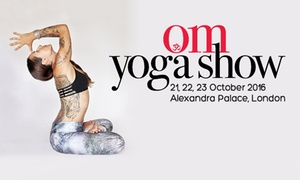 The OM Yoga Show: The OM Yoga Show, Two Adult One-Day Tickets 21-23 October (Up to 55% Off)
