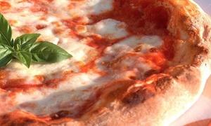 La Pergola Montelanico: Menu con pizza a scelta dalla carta più birra per 2 o 4 persone al ristorante La Pergola (sconto fino a 74%)