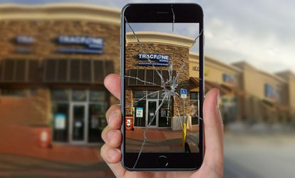 image for iPhone and iPad Screen and LCD Replacement at TracFone Wireless (Up to 37% Off). Eight Options Available.