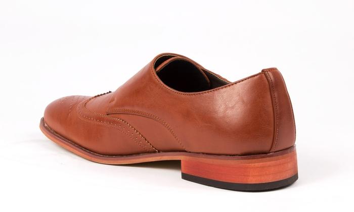 Gino Pheroni Men S Brogue Dress Shoes