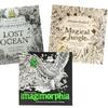 Adventurous Adult Coloring Book Set (3-piece)