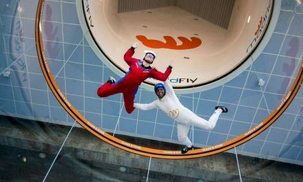 2, 4 u 8 vuelos en túnel de viento para niños y/o adultos en Madrid Fly