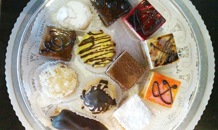 One Dozen Assorted Mini Pastries or 2 Pounds of Assorted Cookies at Unique Pastry Bakery (Up to 48% Off)