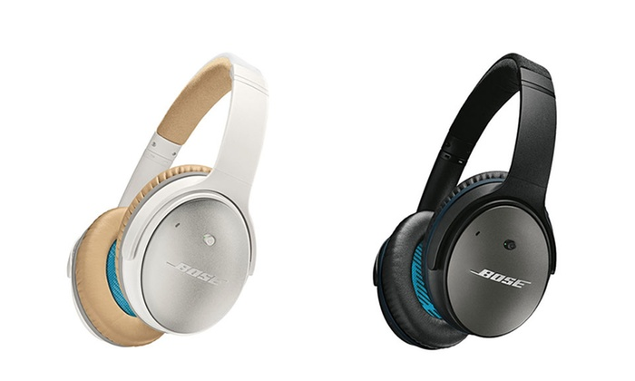 bose quietcomfort 25 over ear acoustic noise canceling. Black Bedroom Furniture Sets. Home Design Ideas