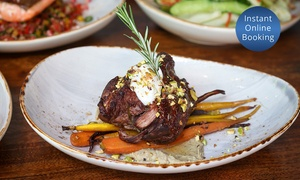 The Wolf Wine Bar: $29 for $60 or $49 for $100 to Spend on Contemporary Mediterranean Cuisine and Beverages at The Wolf Wine Bar
