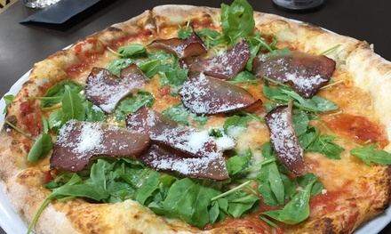 Pizza, Chips, Dessert and Drink for Two or Four at La Vera