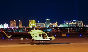 Up to 56% Off VIP Night Vegas Strip Helicopter Experience at Extreme Air Tours, plus 9.0% Cash Back from Ebates.