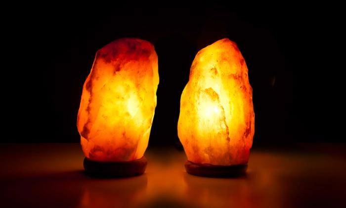 2 Lampes Sel Himalaya Groupon