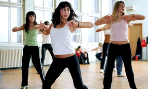 Princess Mhoon Dance Institute: 5 or 10 Dance-Fitness Classes at Princess Mhoon Dance Institute (67% Off)