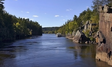 80-Minute Scenic Boat Tour for Two, Four, or Six from Taylors Falls Scenic Boat Tours (49% Off)