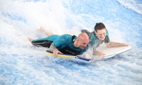 Flowrider Indoor Surfing Experience for One or Two People at Twinwoods Adventure (Up to 50% Off)