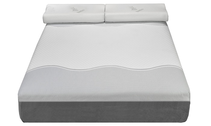 Groupon Goods: ViscoLogic Gel-Infused Memory Foam Mattress from $299.99—$599.99 (Shipping Included)