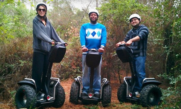 SegCity Houston - Burroughs Park: 45-Minute Trail Blazin' Off-Road Segway Tour for One or Two from SegCity Houston (Up to 54% Off)