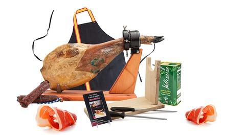 Serrano of Iberische ham, met accessoires