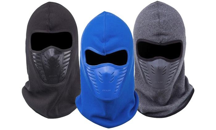 Maschera termica invernale da sci