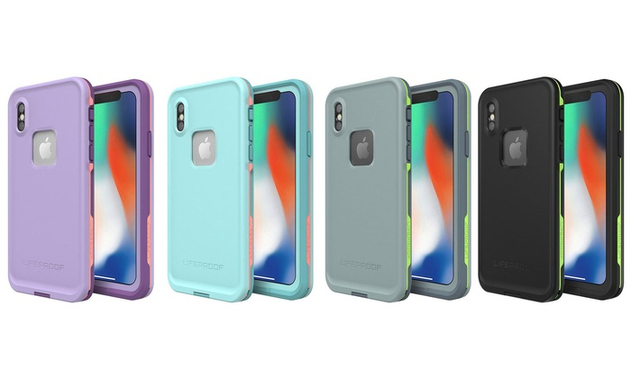 wholesale dealer 6e506 c8e02 LifeProof Fre Series Waterproof Case for iPhone X | Groupon