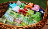 Wertgutschein über 30 € bis 100 € anrechenbar auf natürliche Spa-Produkte von Lemongrass House