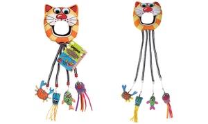 Fat Cat Catfisher Doorknob Hanger